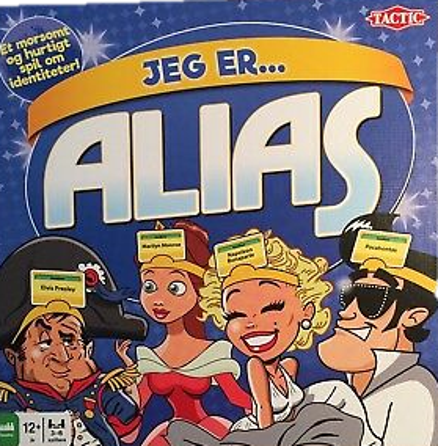 Image of   Alias: Jeg er...