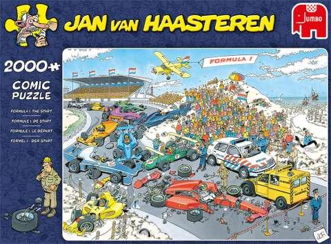 Jan van Haasteren - Formula 1 - 2000 Brikker