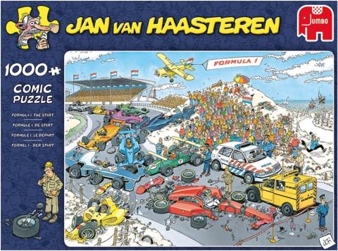Jan van Haasteren - Formule 1 - 1000 Brikker