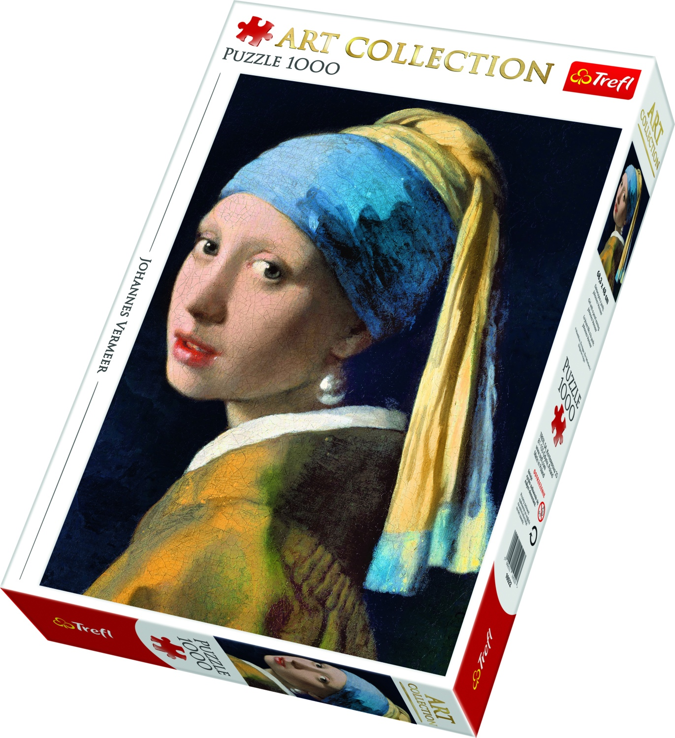 Girl with a Pearl Earring - 1000 brikker