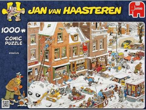 Jan van Haasteren - Streetlife - 1000 brikker