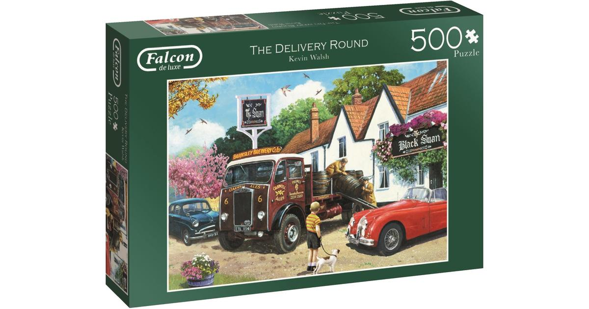 The delivery round - 500 Brikker