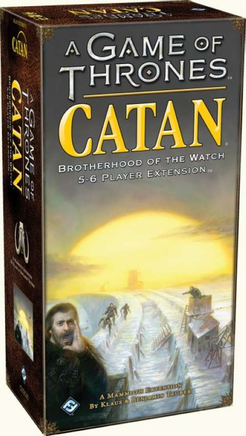 A Game of Thrones Catan: Brotherhood of  the Watch 5-6 Player Extension (1)