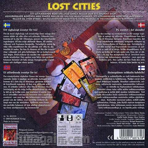 Lost Cities - The Card Game (2)