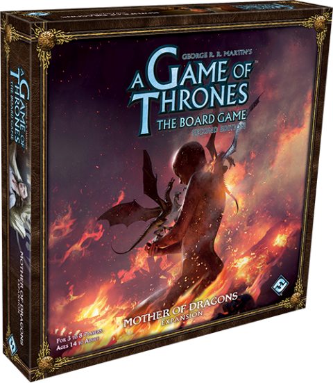 Game of Thrones: The Board Game 2nd edition: Expansion Mother of Dragons (1)