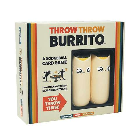 Throw Throw Burrito - A Dodgeball Card Game (1)