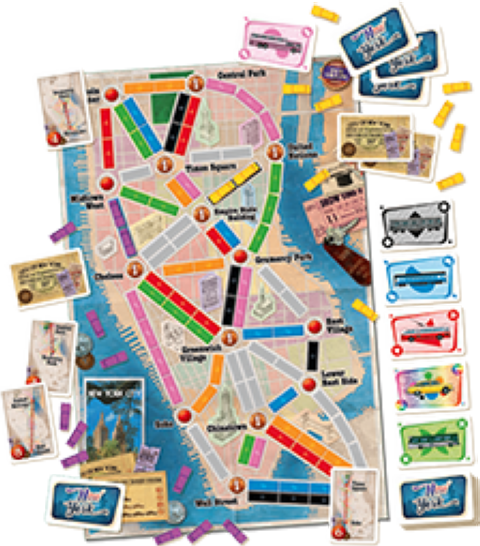 Ticket to Ride - New York (2)