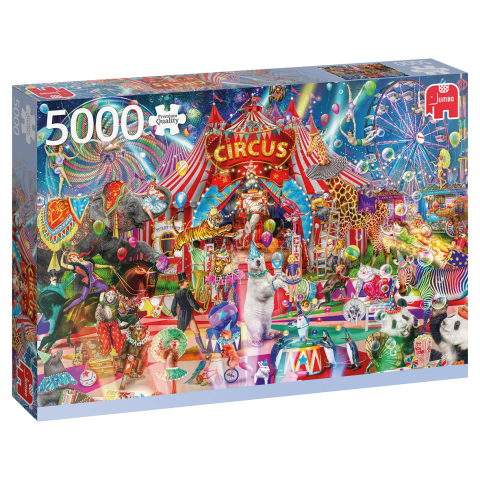 A Night at the Circus, 5000 brikker (1)