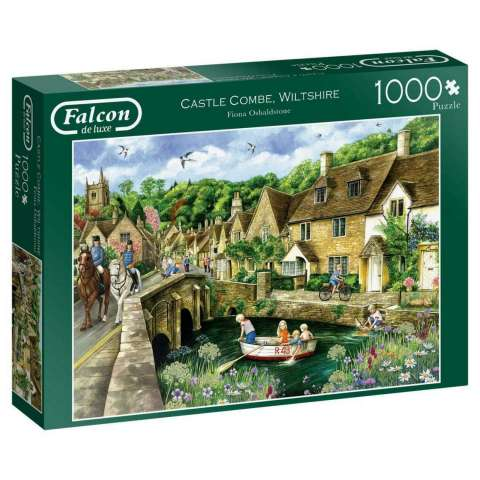 Castle Combe Wiltshire, 1000 brikker (1)