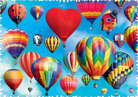 Colorful Balloons, 600 brikker (2)