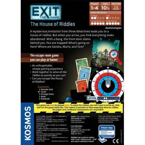 EXIT: The Game - The House of Riddles (2)