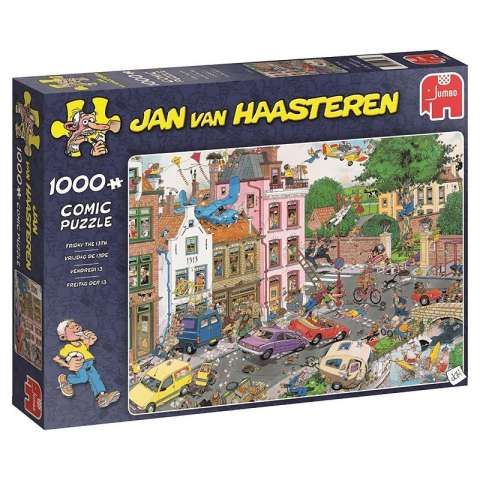 Jan van Haasteren - Friday the 13th - 1000 brikker (1)