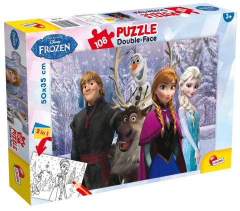 Frozen Double-Face, 108 brikker (1)