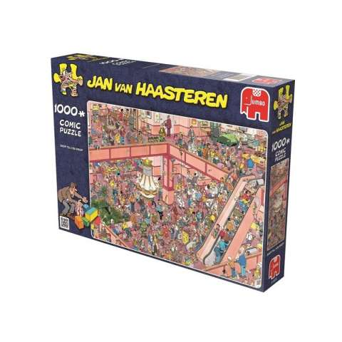 Jan van Haasteren - Shop till You Drop - 1000 brikker (2)