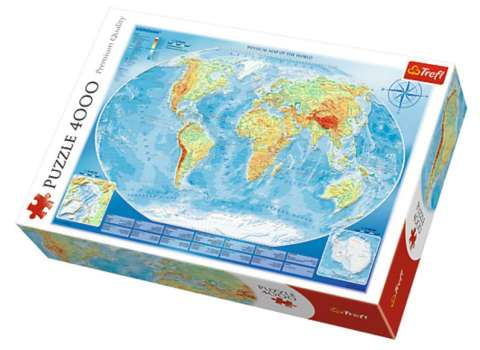 Map of the World, 4000 brikker (1)