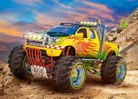 Monster Truck - 260 brikker (2)