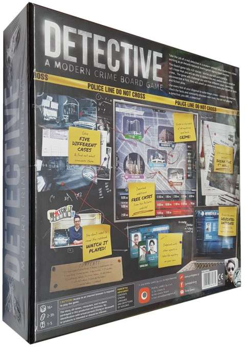 Detective: A Modern Crime Board Game (2)