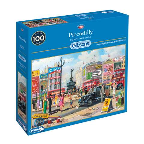 Piccadilly, 1000 brikker (1)