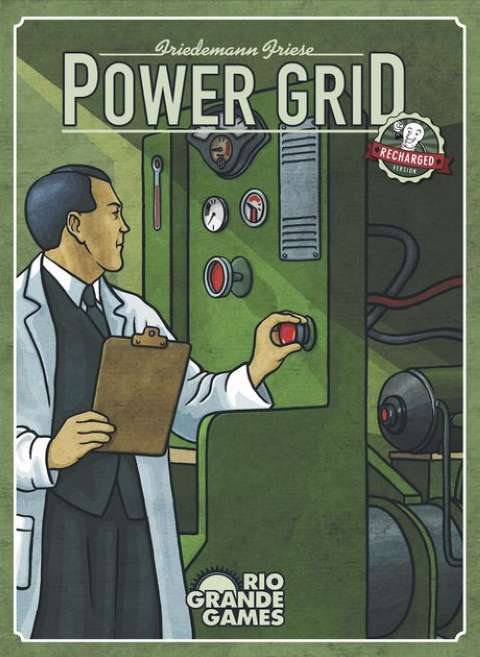Power Grid Recharged - Engelsk (1)
