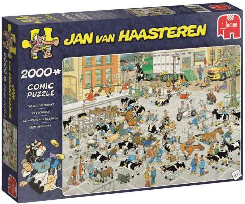 Jan van Haasteren - The Cattle Market - 2000 brikker (1)