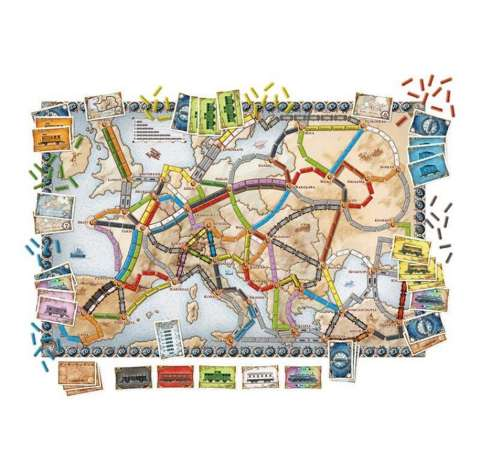 Ticket to ride Europe (2)