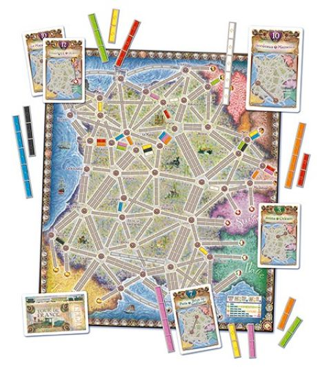 Ticket to Ride: France & The Old West - Map Collection #6 (2)