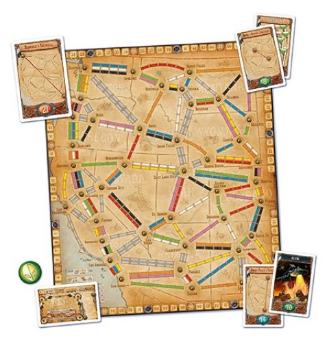 Ticket to Ride: France & The Old West - Map Collection #6 (3)