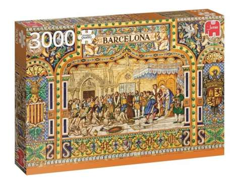 Tiles of Barcelona, 3000 brikker (1)